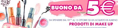 Logo Buono sconto sicuro da 5 euro per il tuo Make Up