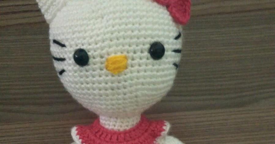 Amigurumi Hello Kitty Anahtarlık Yapımı - TEK PARÇA FULL - YouTube | 472x899