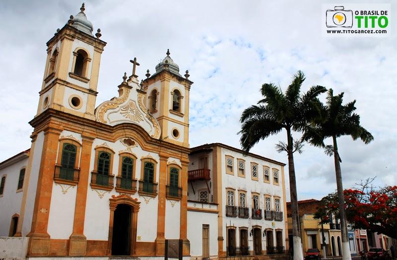 Igreja de Nossa Senhora da Corrente e a Pousada Colonial em Penedo, Alagoas