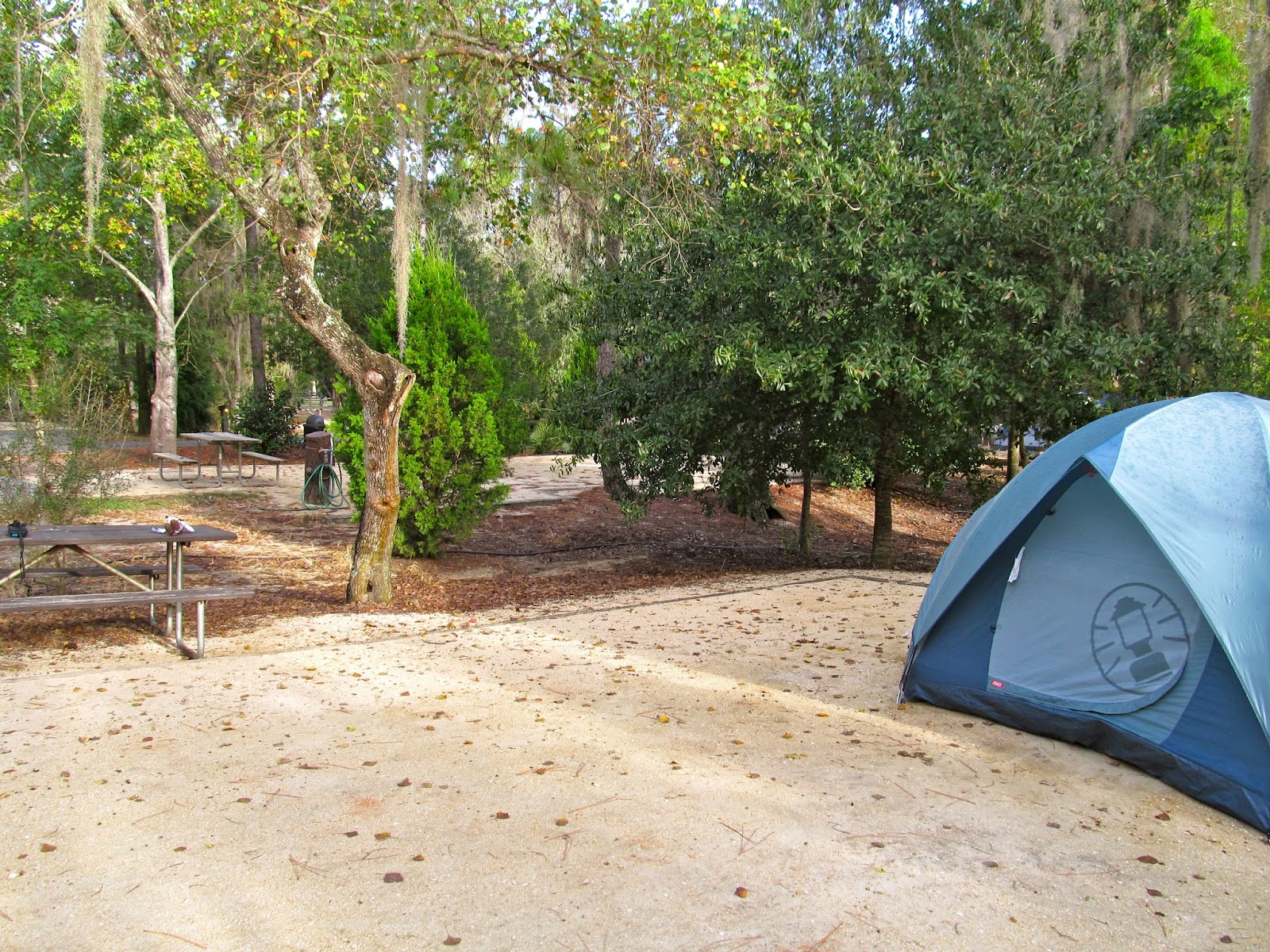 Tent Camping in Fort Wilderness at The Walt Disney World Resort