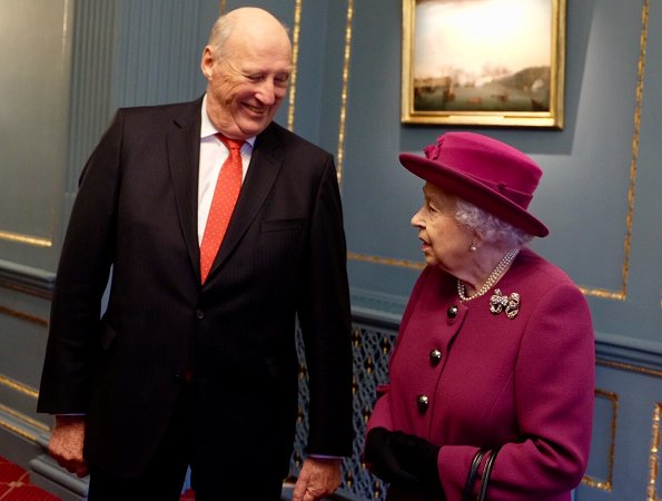 Queen Elizabeth II and King Harald V are joint Patrons of the Anglo-Norse Society