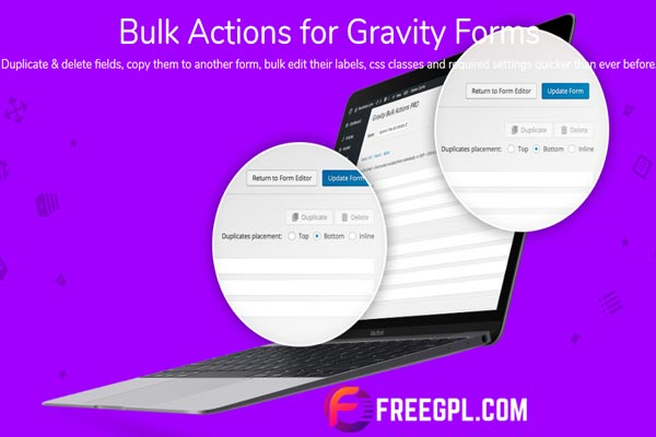 Gravity Forms Bulk Actions Pro Free Download