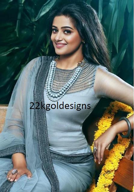 Priyamani in Beads Haar