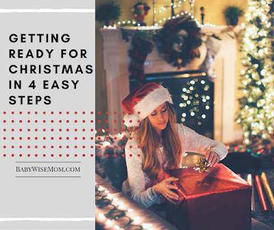 Getting ready for Christmas in Four Easy Steps