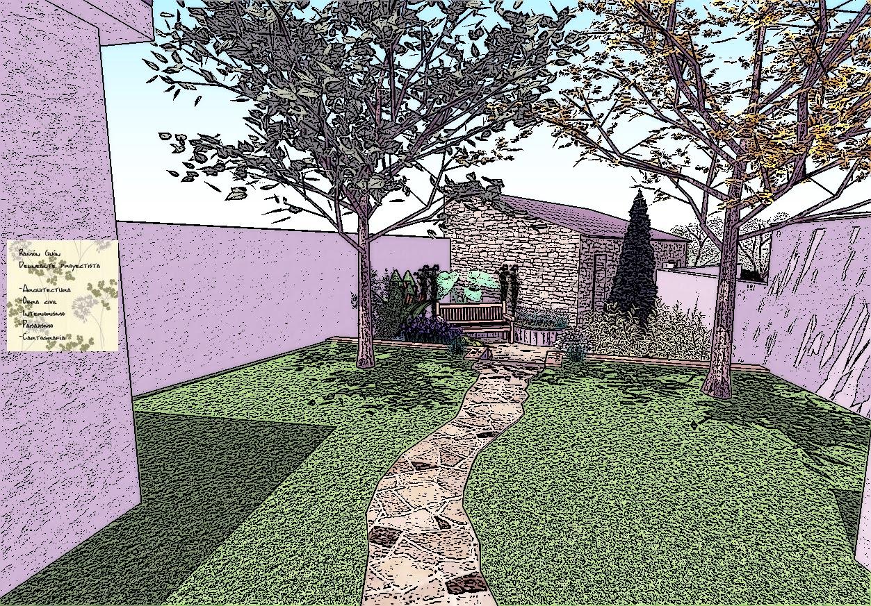 Espacios Verdes Propuesta De Jardín