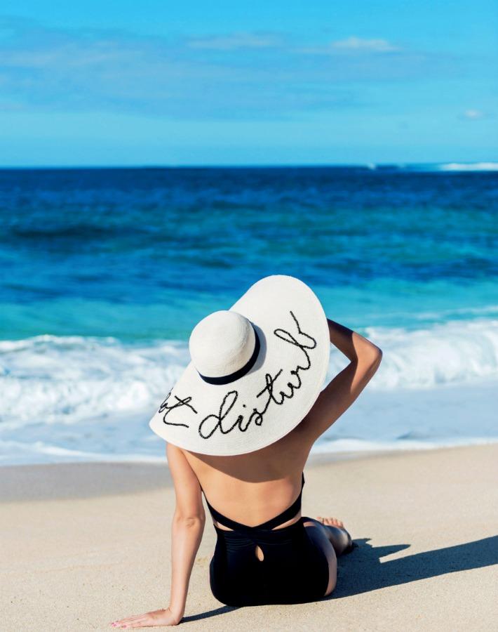 Decoración Fácil 4 Tutoriales Sombreros De Playa Con Frases
