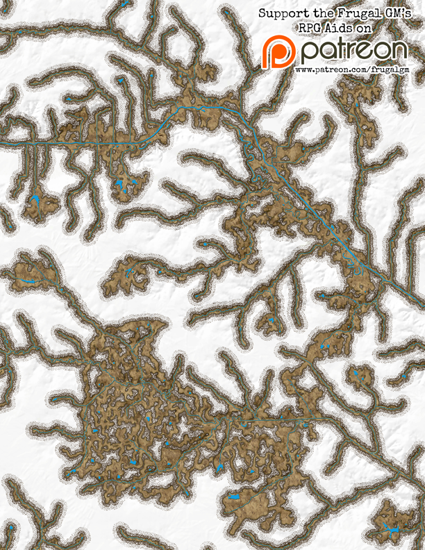 Small Preview of Map045: Underground River Network