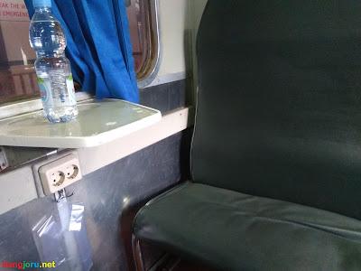 kursi kereta api gaya baru malam selatan