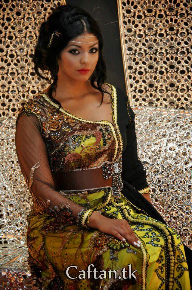 Collection Caftan Marocain 2014 Caftan Moderne