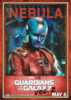 Guardians of the Galaxy Vol. 2 Movie Poster 15 Karen Gillan