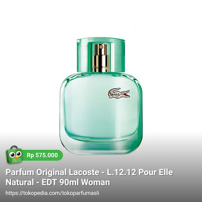 lacoste l1212 pour elle natural edt 90ml woman