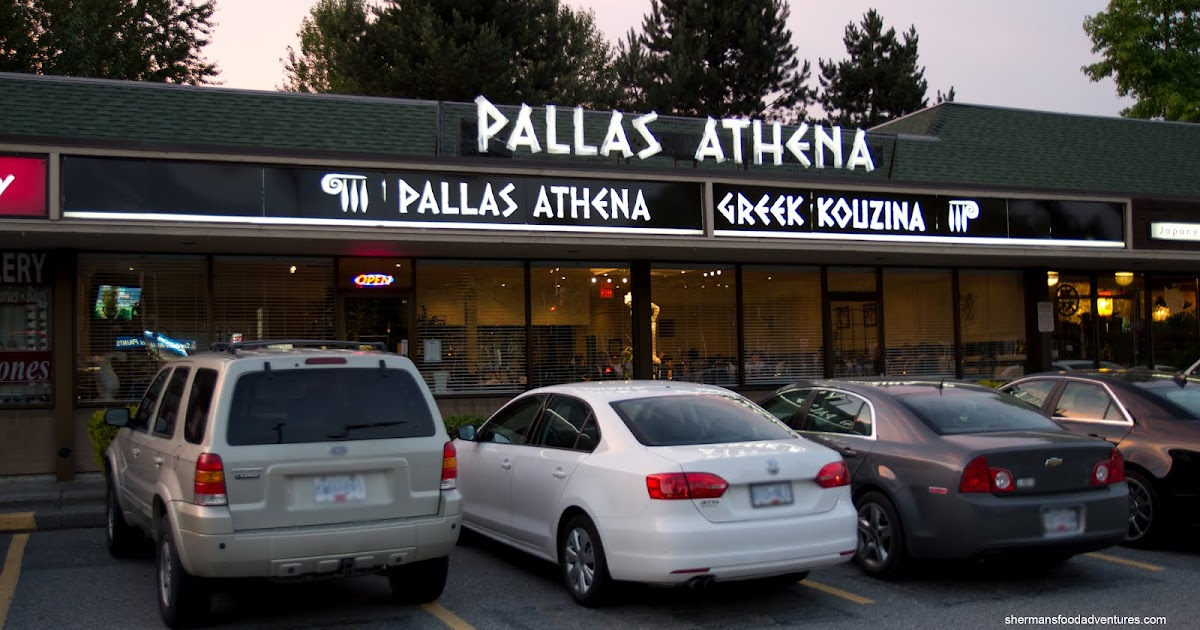 Sherman S Food Adventures Pallas Athena Greek Kouzina