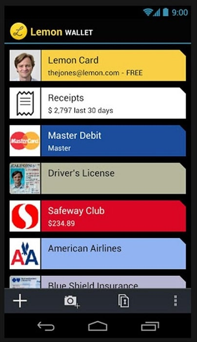 Apps for students Lemon Wallet app