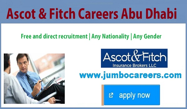 Direct free recruitment jobs in Abu Dhbai, Latest Abu Dhbai jobs for Indians,
