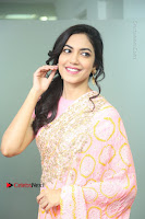 Actress Ritu Varma Pos in Beautiful Pink Anarkali Dress at at Keshava Movie Interview .COM 0111.JPG