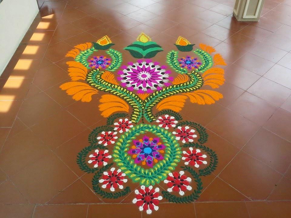 Rangoli for Diwali 1