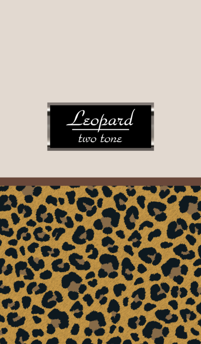 Leopard Two tone Basic WV