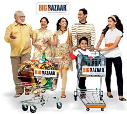 Big Bazaar Voucher worth Rs.500 for Rs.350 Only @ Nearbuy