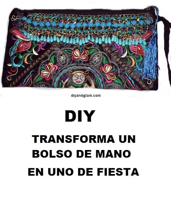 Cómo hacer nuestro bolso de mano de fiesta
