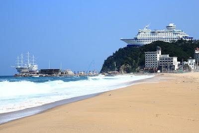 Jeongdongjin Beach