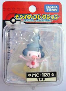 Mime Jr. Pokemon figure Tomy Monster Collection MC series