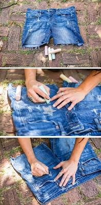 Geçici Kot Pantolon Süsleme Yapımı