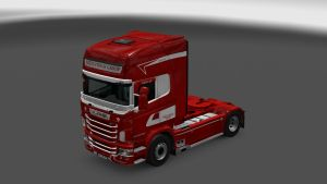 Yagiz Truck Group Skin for Scania RJL