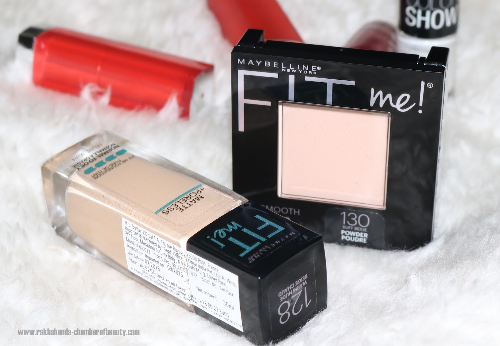 Maybelline NY Fit Me! Matte+Poreless Foundation Review, Swatches, price in India
