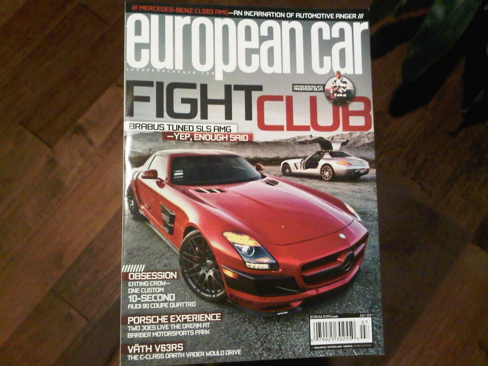Singh Autosport Front Cover Of European Car