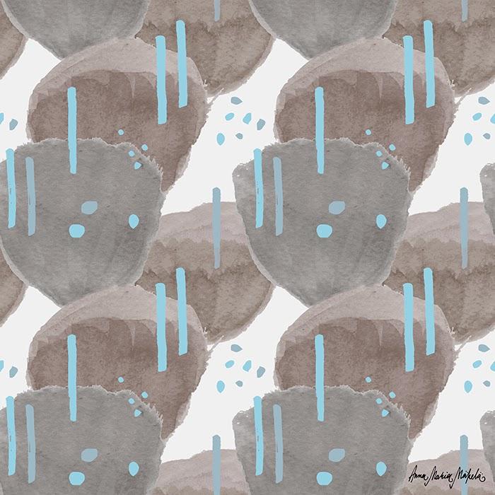 kaktuksen kukat blue
