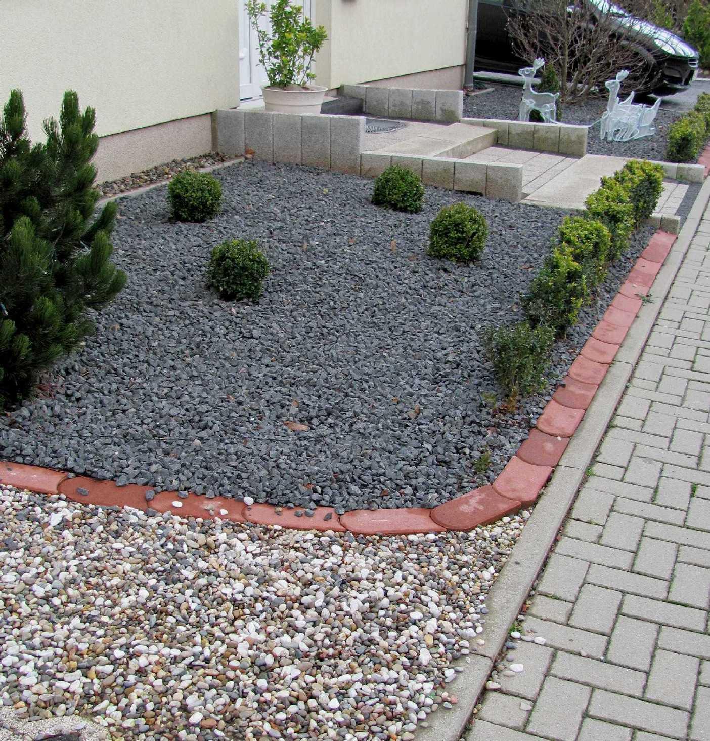 Schön Vorgarten Mit Steinen Gestalten Ideen