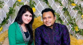 Mishu Sabbir And His Wife Shamma Holud Wedding Photos With Mehazabien Chowdhury