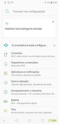 Tampilan Zenfone 5 Android Pie Pengaturan