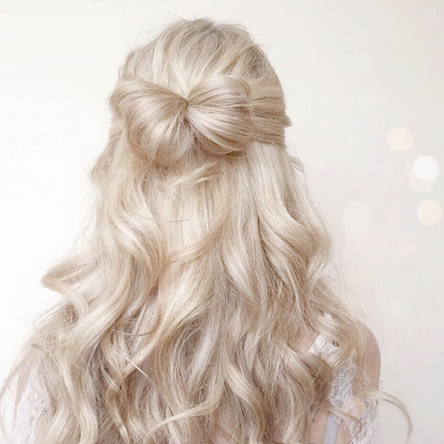 Love, Catherine | Cute Hair Bow Hairstyle