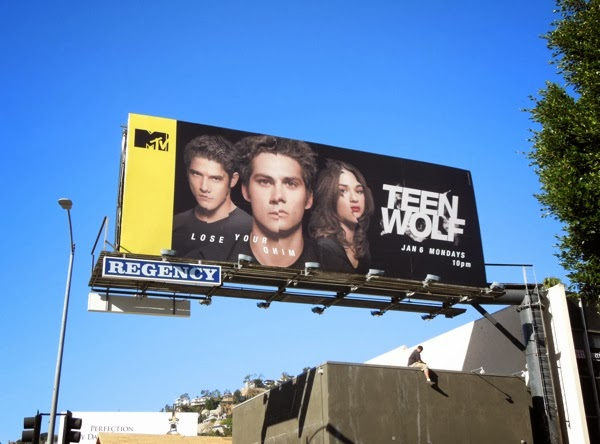 Teen Wolf Lose your mind billboard