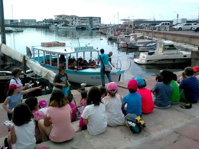 Sortida educativa-Port d'Arenys-Sinera Cultura