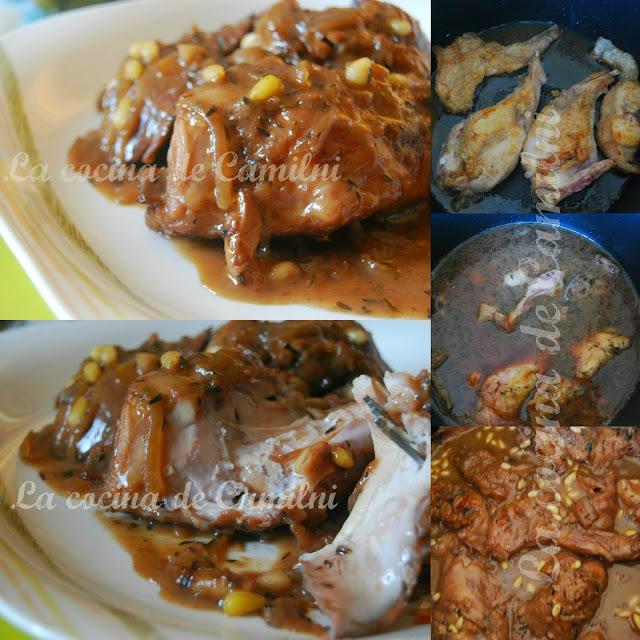 Conejo a la siciliana (La cocina de Camilni)