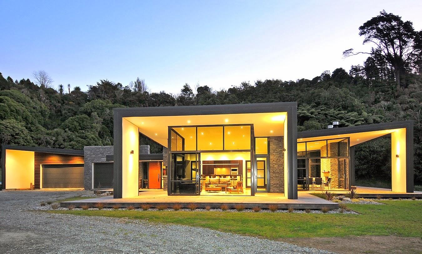 Decoracion Actual de moda: Fachadas de Casas Modernas