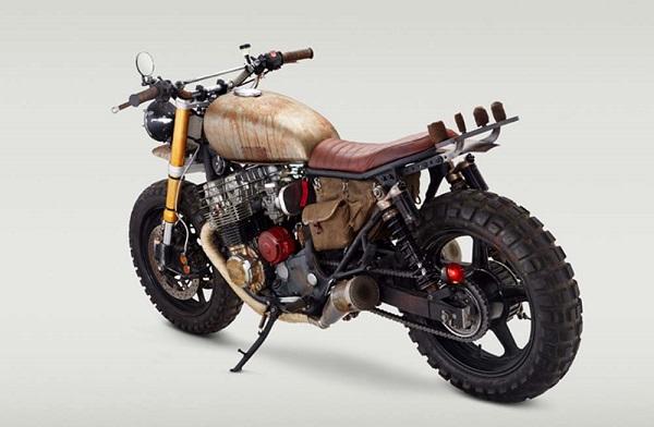 Honda CB750 Nighthawk độ Scrambler lên phim The Walking Dead