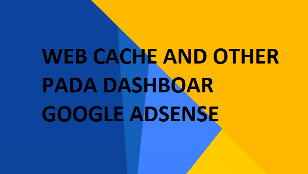 "Apa Yang Dimaksud ""Web Caches and Other"" Pada Dashboard Pelaporan Google Adsense"