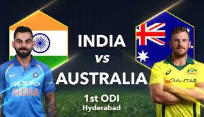Ind vs Aus 1st ODI 2019 full highlight
