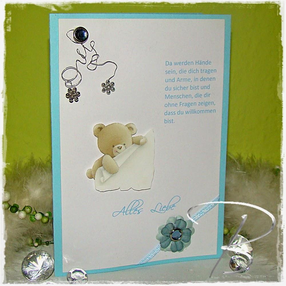 Kreativer Lifestyle by Sybille Engbers: Babykarten - Hände