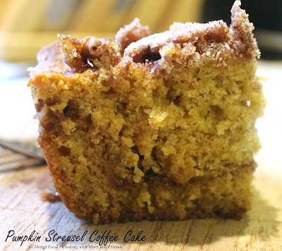 Cooking With Mary And Friends Pumpkin Streusel Coffee Cake