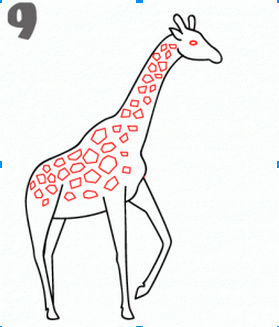 Room 10 Bright Sparks: How to draw a Giraffe (Procedural ...