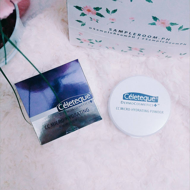 Céleteque DermoCosmetic CC MICRO-HYDRATING POWDER REVIEW