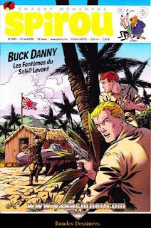 Chaque Mercred, Spirou, Buck Danny, les fantômes du soleil Levant, numéro 4072, année 2016