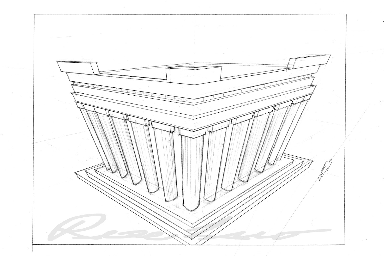 Rose Rong Luo S Production Blog 3 Point Perspective