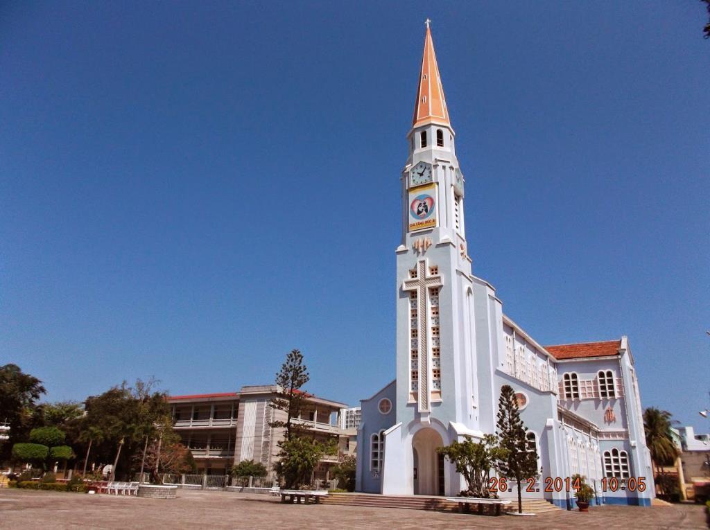 Image result for nhà thờ chánh tòa quy nhơn