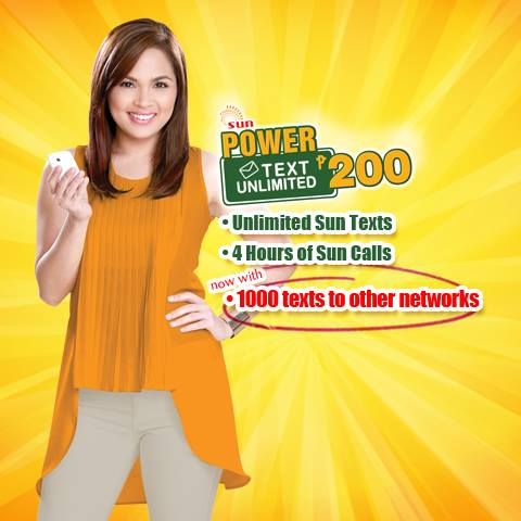 Sun Power Text Unlimited 200