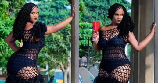 Denrele's Sister Flaunts Her Curves In See-Through Dress